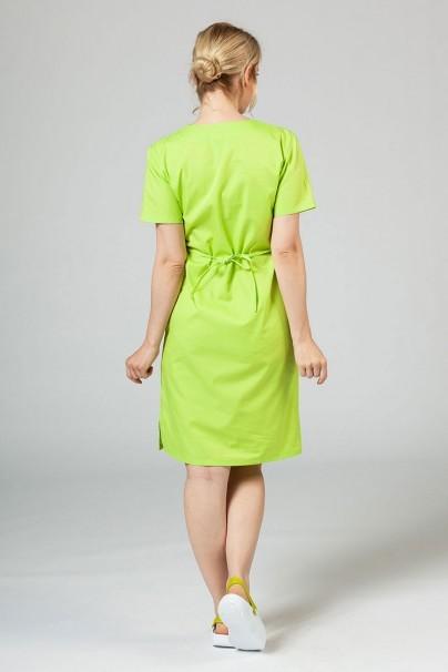 saty-1 Lékařské jednoduché šaty Sunrise Uniforms limetkové