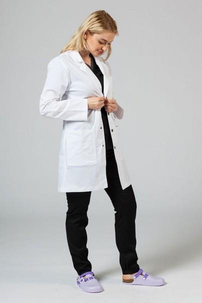 plaste-2 Lékařský plášť Adar Uniforms Snap bílý (elastický)