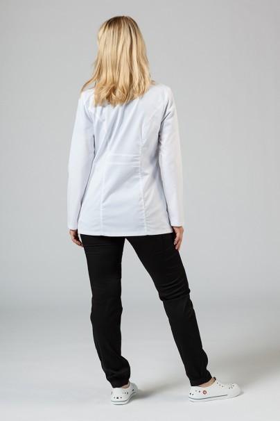 plaste-2 Lékařský plášť Adar Uniforms Tab-Waist krátký bílý (elastický)