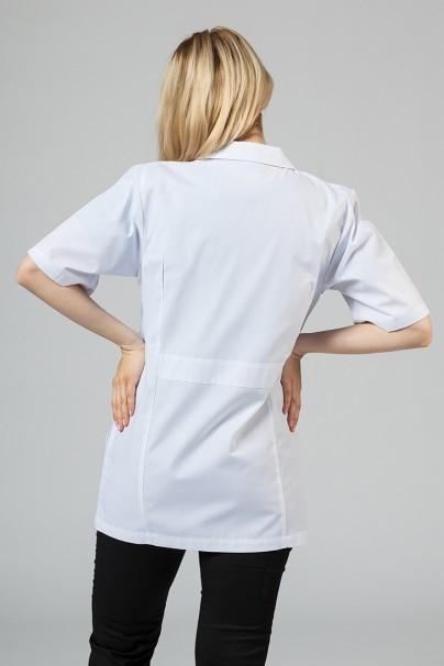 plaste-2 Lékařský plášť Adar Uniforms Consultation (krátký rukáv) bílý