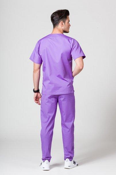 komplety-medyczne-meskie Pánská zdravotnická souprava Sunrise Uniforms fialová