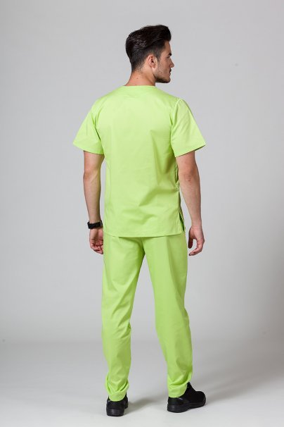 soupravy-1 Pánská zdravotnická souprava Sunrise Uniforms limetková