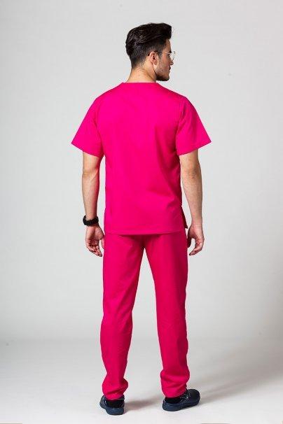 komplety-medyczne-meskie Pánská zdravotnická souprava Sunrise Uniforms malinová