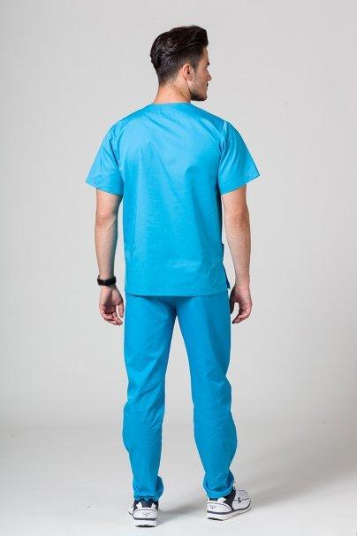 komplety-medyczne-meskie Pánská zdravotnická souprava Sunrise Uniforms tyrkysová