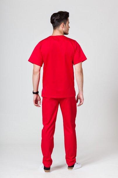 komplety-medyczne-meskie Pánská zdravotnická souprava Sunrise Uniforms červená