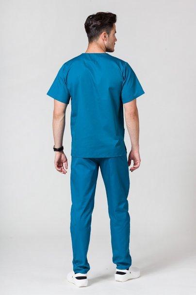komplety-medyczne-meskie Pánská zdravotnická souprava Sunrise Uniforms karibsky modrá