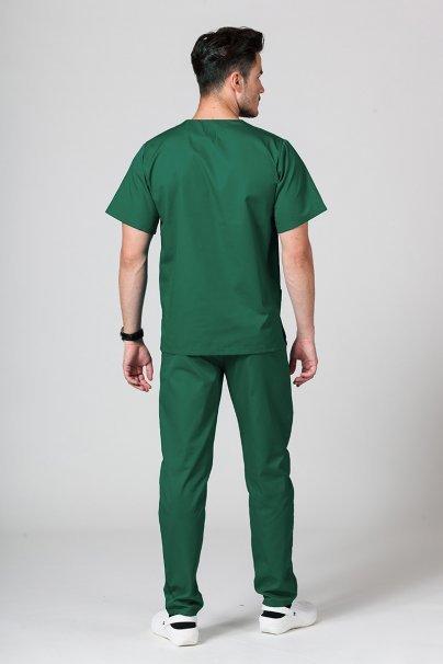 komplety-1-1 Pánský zdravotnický komplet Sunrise Uniforms lahvově zelený