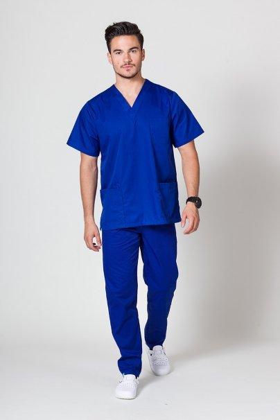 komplety-medyczne-meskie Pánská zdravotnická souprava Sunrise Uniforms tmavě modrá