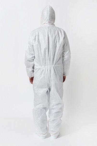 jednorazowe Ochranná kombinéza z vlizelínu 30g/m2, bílá, univerzální velikost