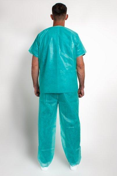 jednorazowe Jednorázová lékařská souprava, ochranná, zelená, univerzální velikost
