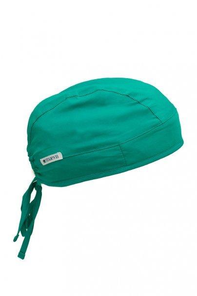 czepki-damskie Lékařská čepice Maevn Elastic Unisex mořsky zelená