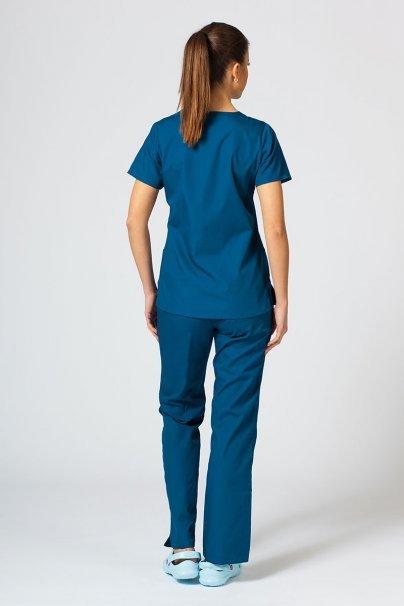 komplety-medyczne-damskie Zdravotnická souprava Maevn Red Panda karibsky modrá