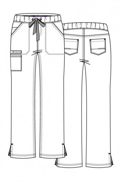 kalhoty-1-1 Lékařské kalhoty Maevn PrimaFlex bílé