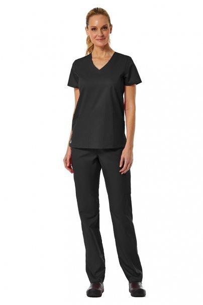 spodnie-medyczne-damskie Dámské kalhoty Maevn EON Classic Yoga černé