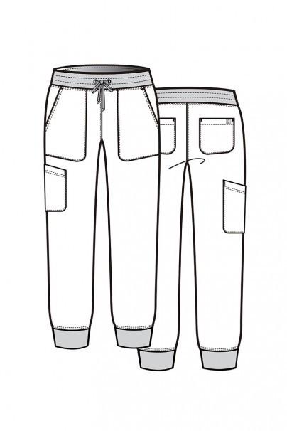 kalhoty-1-1 Dámské kalhoty Maevn Matrix Impulse Jogger lososové