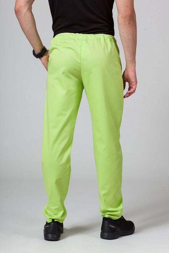 spodnie-medyczne-meskie Univerzální lékařské kalhoty Sunrise Uniforms limetkové