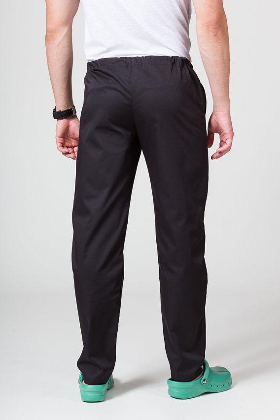 spodnie-medyczne-meskie Univerzální lékařské kalhoty Sunrise Uniforms černé