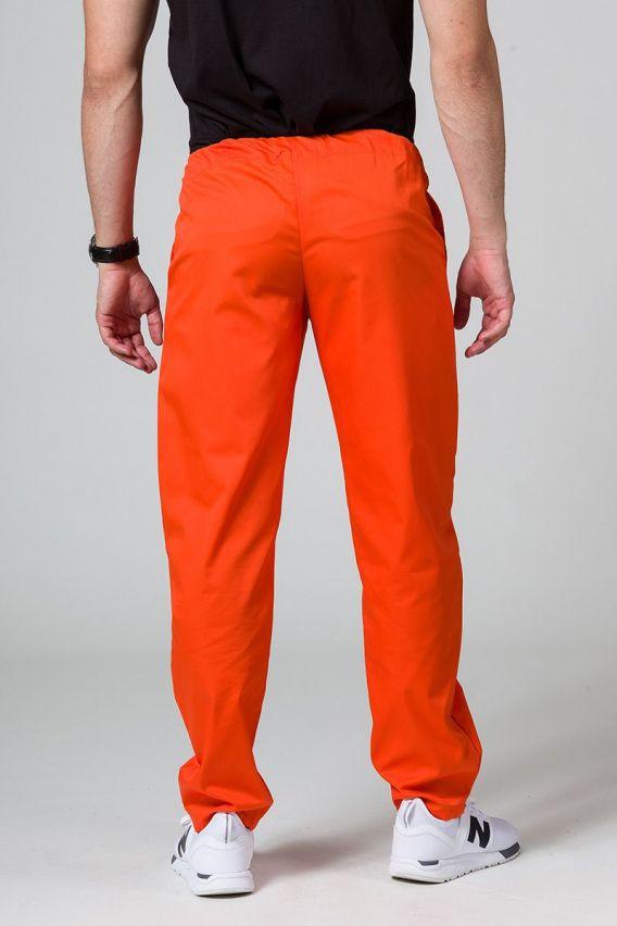 spodnie-medyczne-meskie Univerzální lékařské kalhoty Sunrise Uniforms oranžové