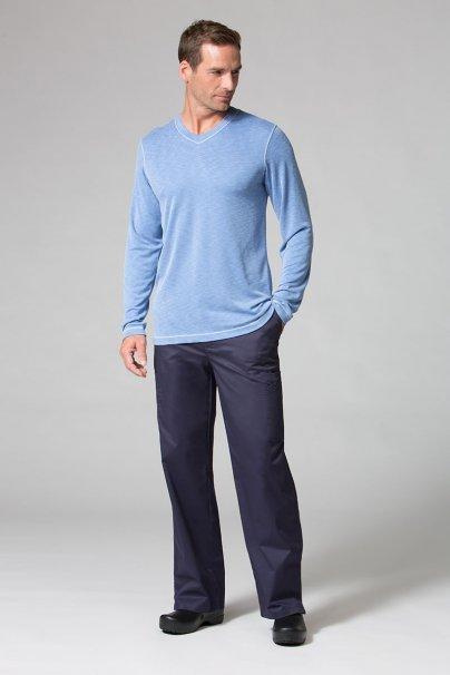 s-kratkym-rukavem Pánské tričko s dlouhým rukávem Maevn Modal modré