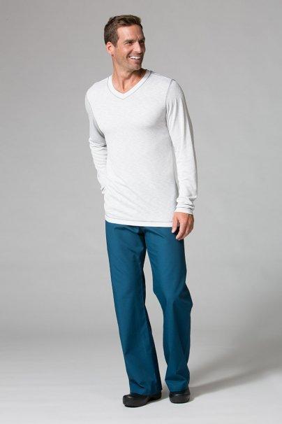 s-kratkym-rukavem Pánské tričko s dlouhým rukávem Maevn Modal světle šedé