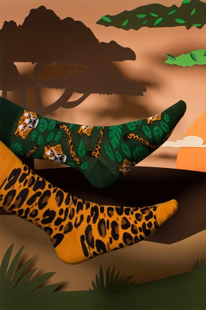 skarpetki Barevné ponožky El Leopardo - Many Mornings