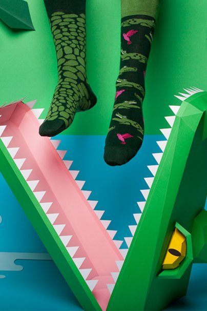 skarpetki Barevné ponožky Forfitter - Many Mornings