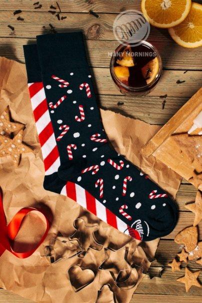 ponozky Barevné ponožky Sweet X-mass - Many Mornings