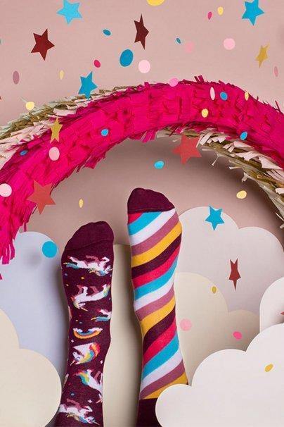 ponozky Barevné ponožky The unicorns - Many Mornings