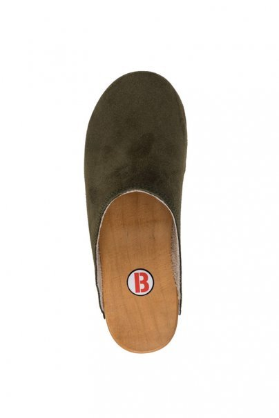 obuwie-medyczne-damskie Zdravotní obuv Buxa model PZM1 zelený semiš