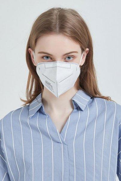 jednorazove-vyrobky Ochranná maska FFP2 (N95), čtyřvrstvá, CE. Cena za 2 kusy