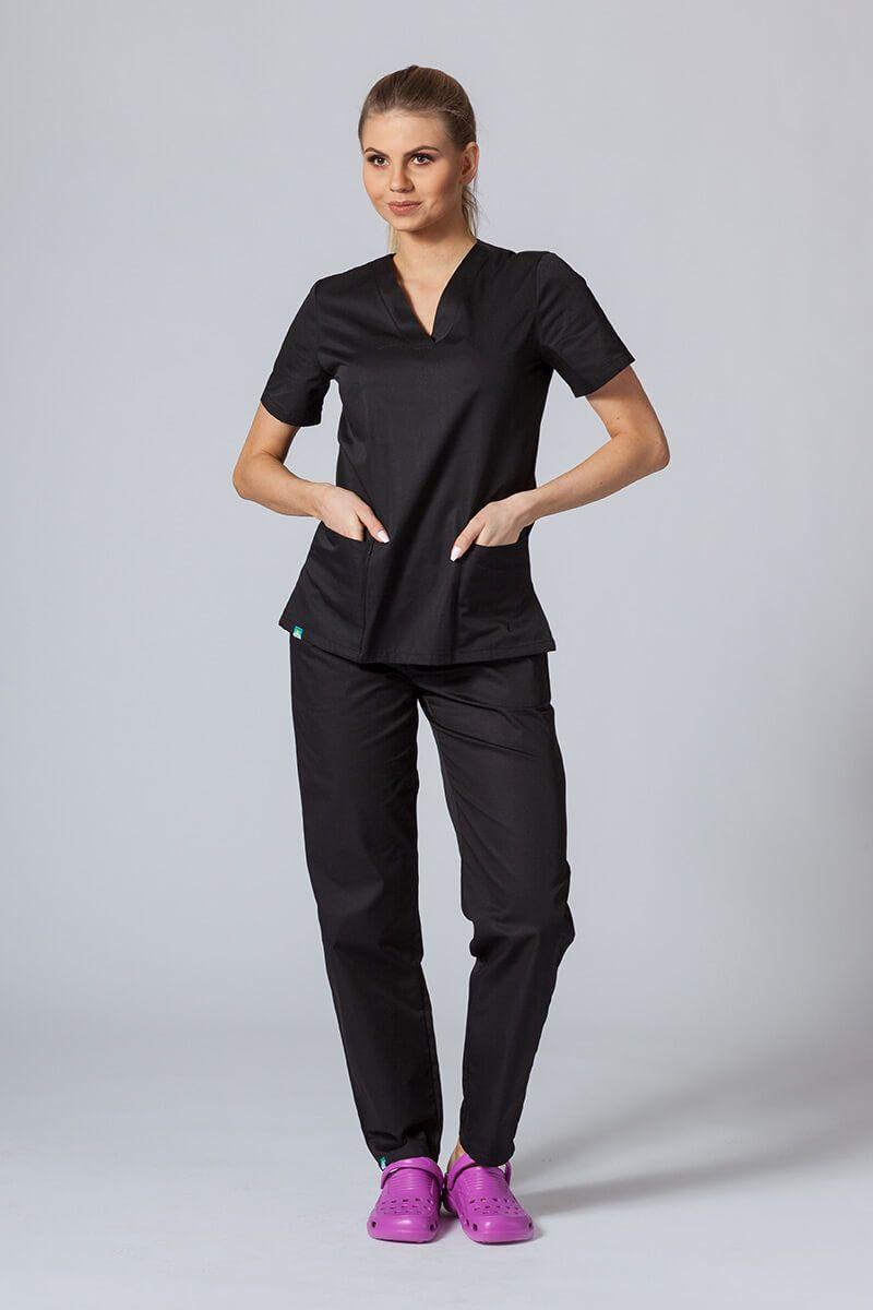 Zdravotnická souprava Sunrise Uniforms černá