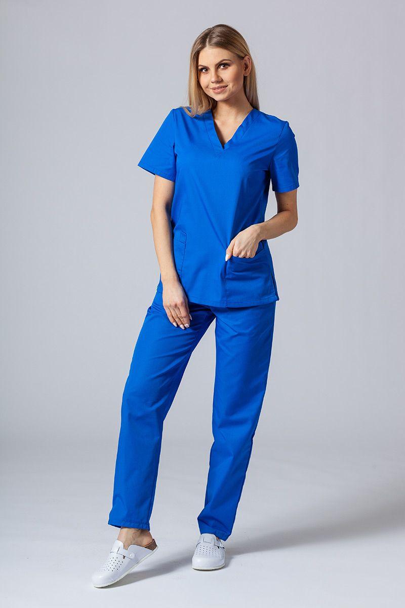 Zdravotnická souprava Sunrise Uniforms královsky modrá