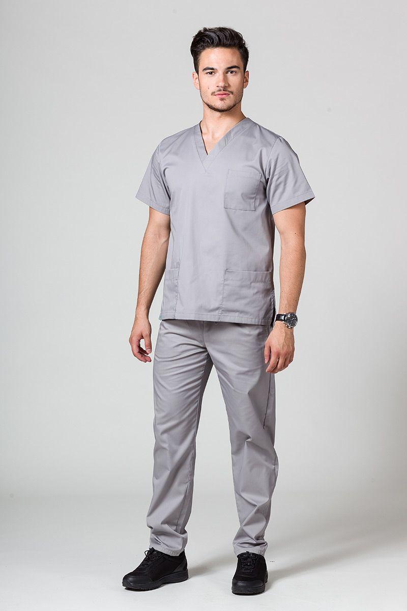 Pánská zdravotnická souprava Sunrise Uniforms šedá