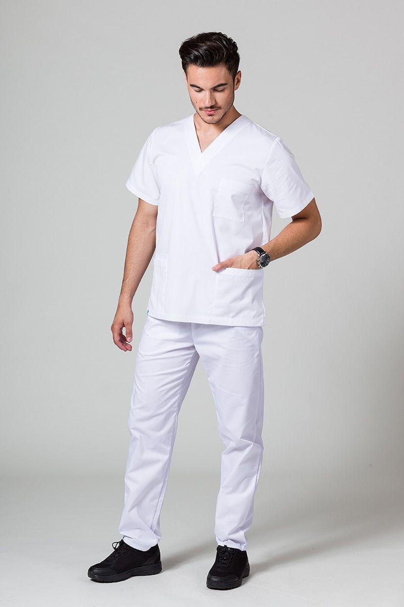 Pánská zdravotnická souprava Sunrise Uniforms bílá