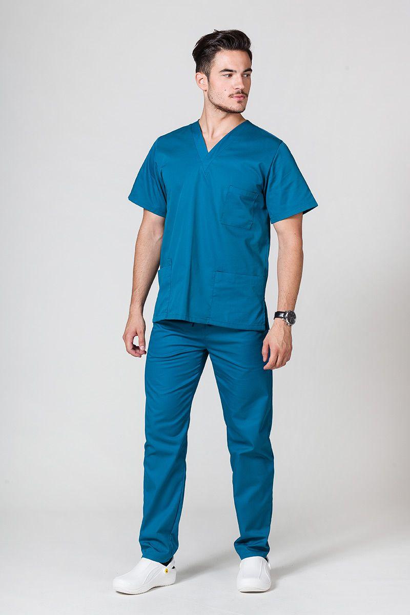 Pánská zdravotnická souprava Sunrise Uniforms karibsky modrá