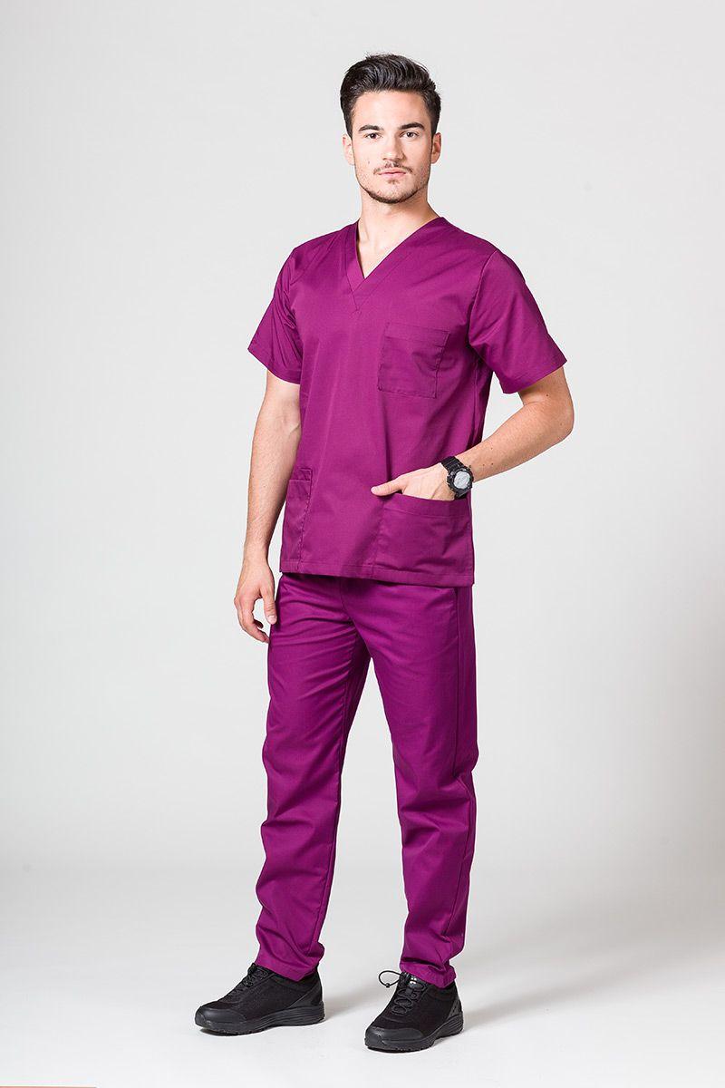 Pánská zdravotnická souprava Sunrise Uniforms lilková