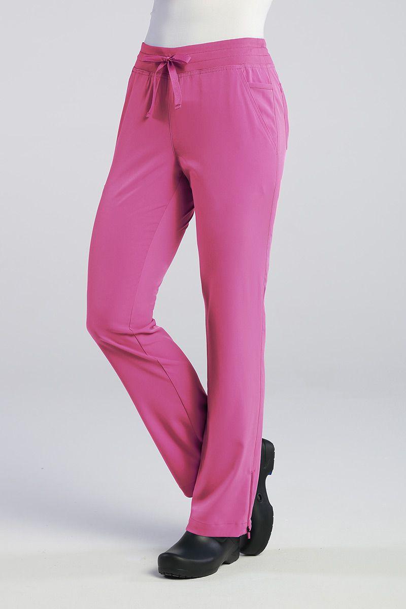 Lékařské kalhoty Maevn Pure Modern Yoga růžové