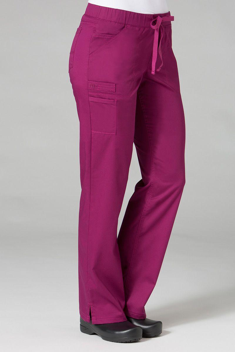 Lékařské kalhoty Maevn PrimaFlex švestkové