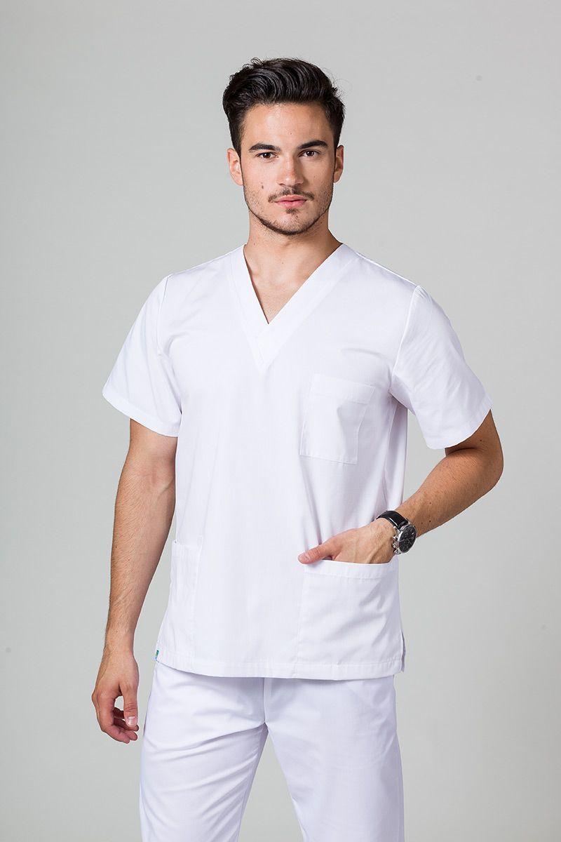 Univerzální lékařská mikina Sunrise Uniforms bílá
