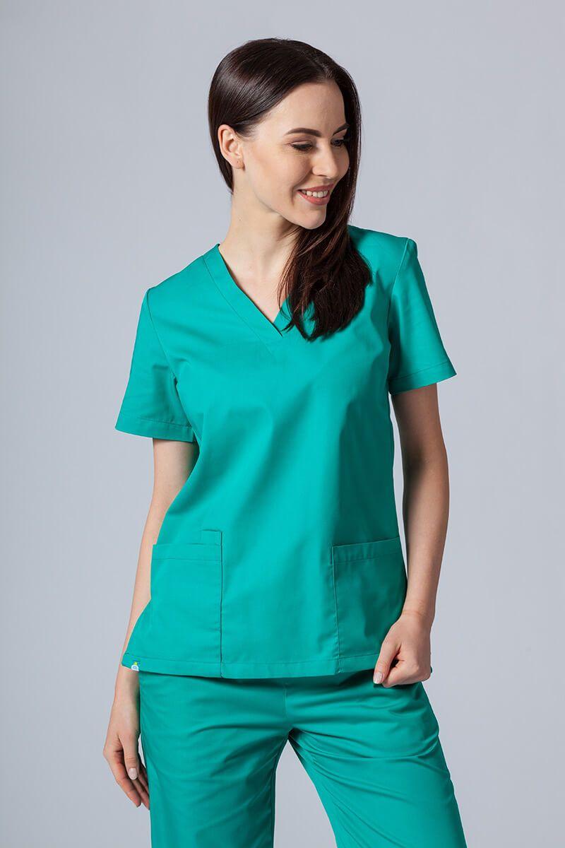 Lékařská halena Sunrise Uniforms zelená