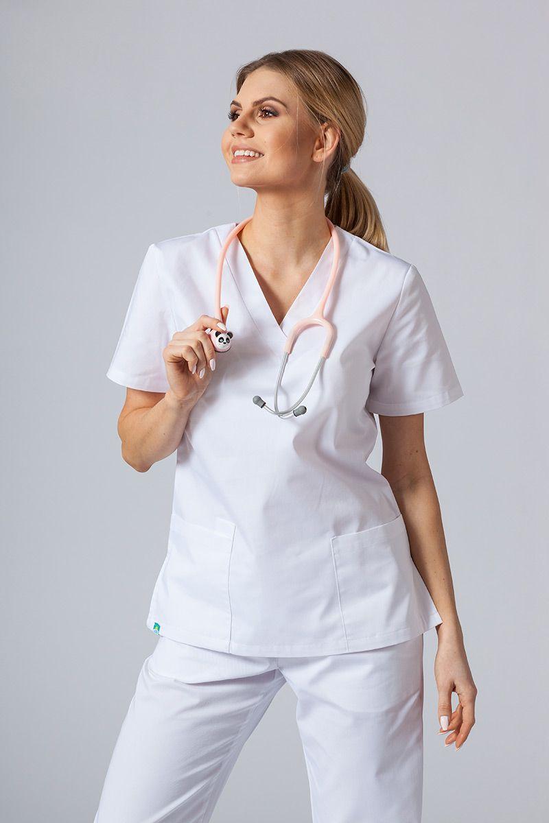 Lékařská halena sunrise uniforms bílá