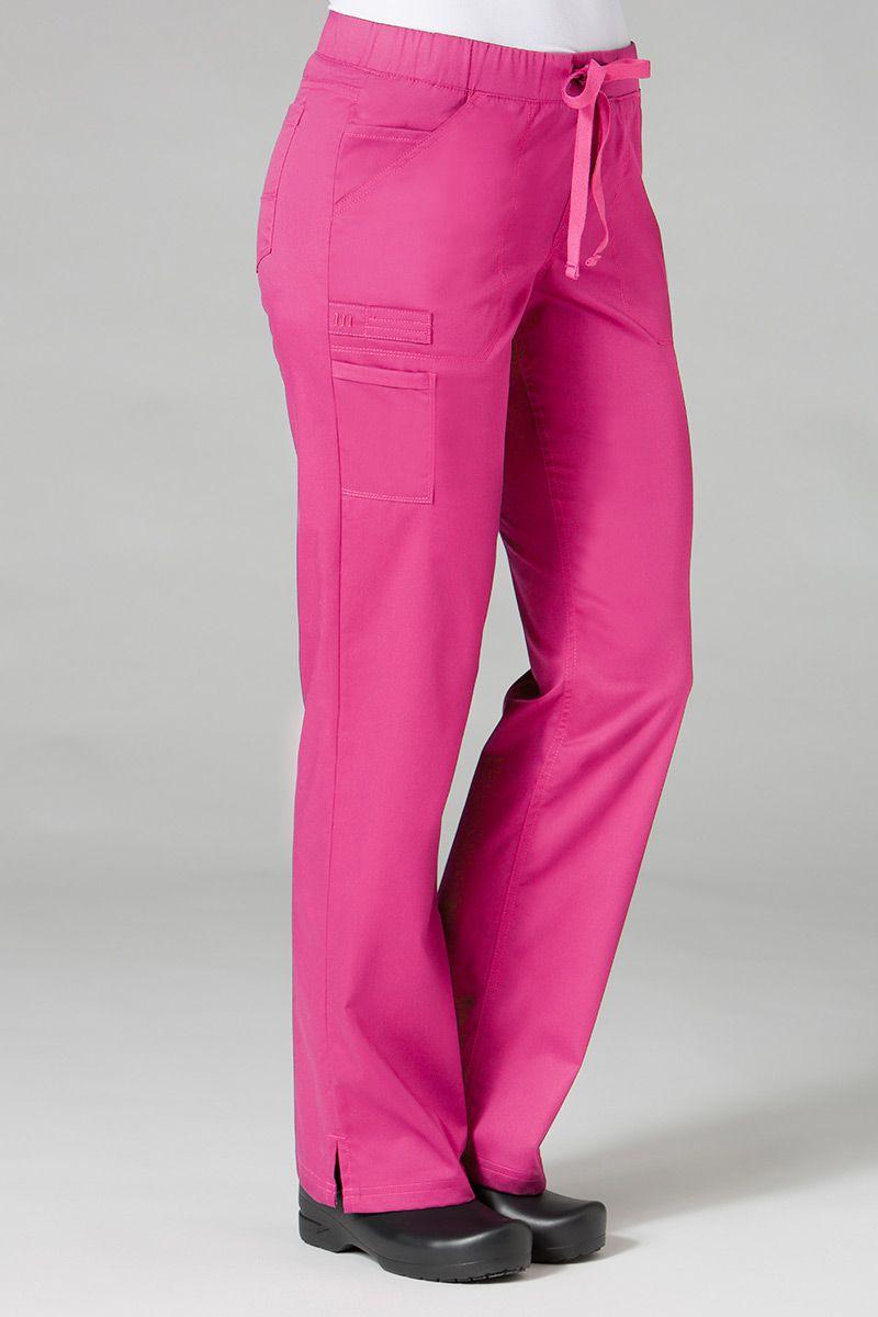 Lékařské kalhoty Maevn PrimaFlex růžové