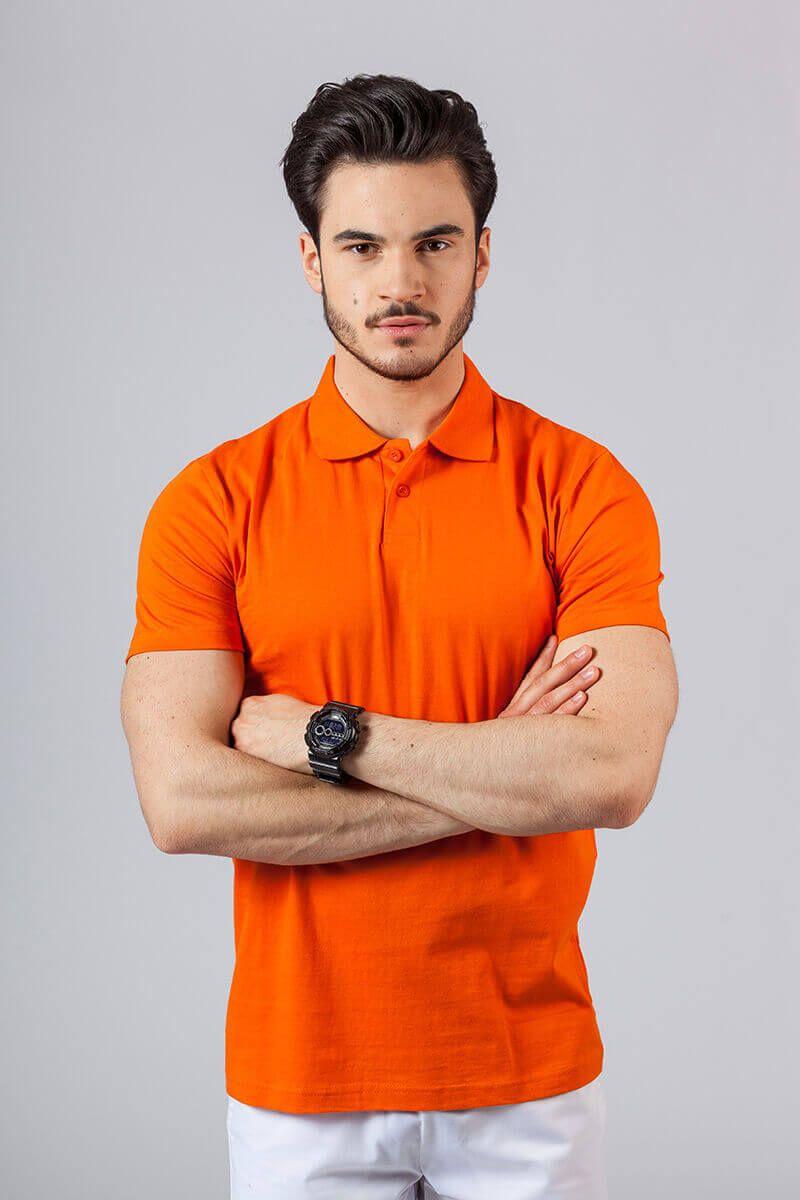 Pánské Polo tričko oranžová
