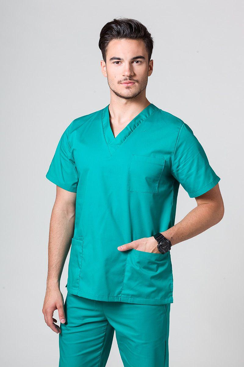 Univerzální lékařská mikina Sunrise Uniforms zelená