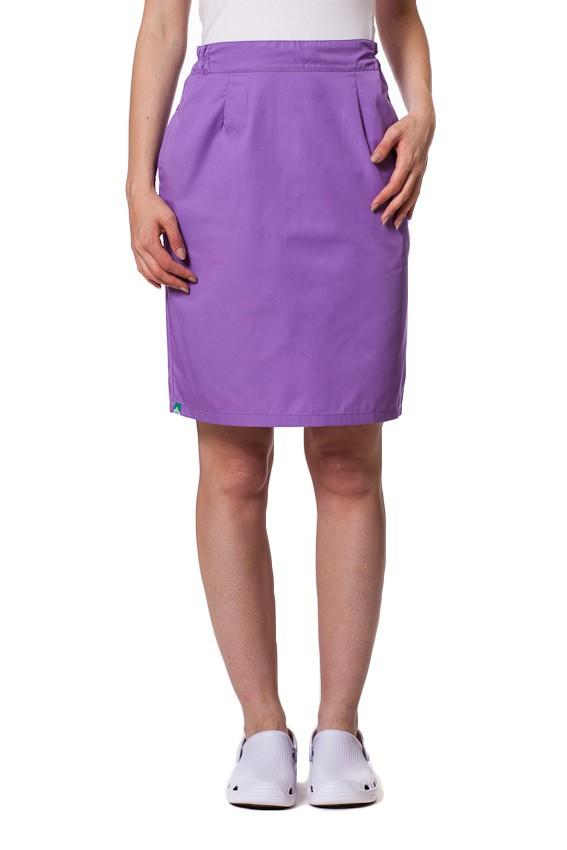 Sukně s kapsami Sunrise Uniforms fialová