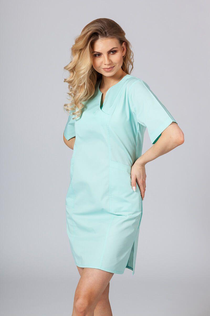 Lékařské Klasické šaty Sunrise Uniforms mátové