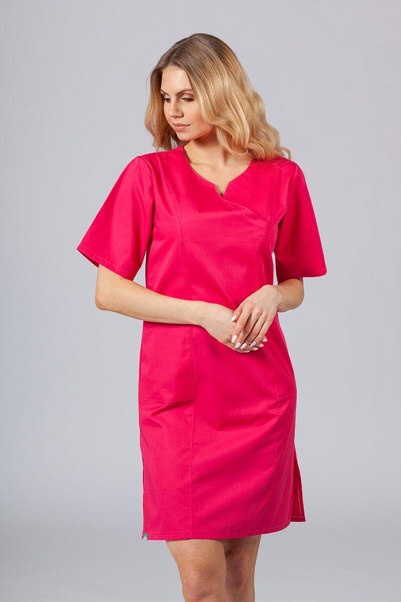 Lékařské Klasické šaty Sunrise Uniforms malinové