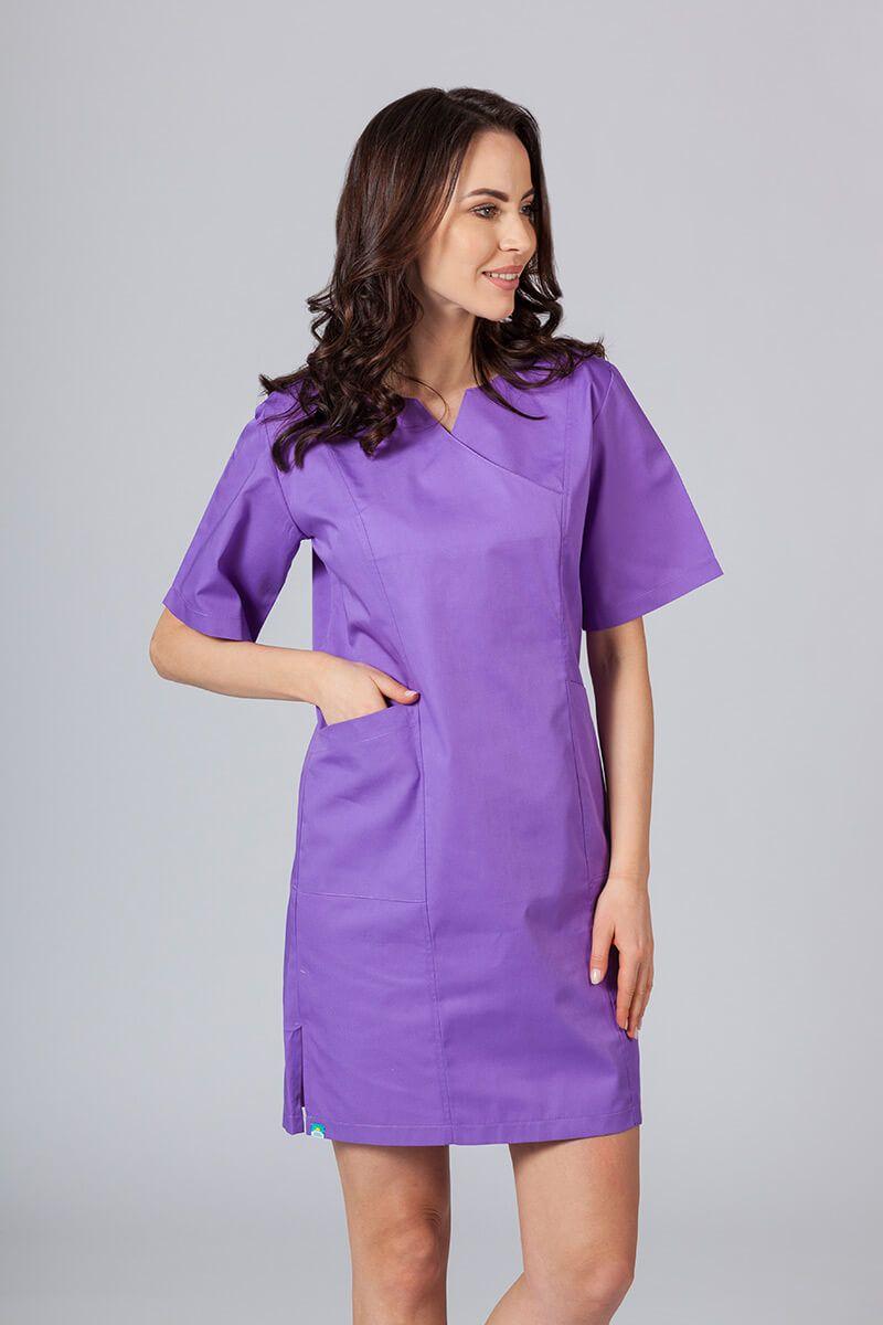 Lékařské Klasické šaty Sunrise Uniforms fialové