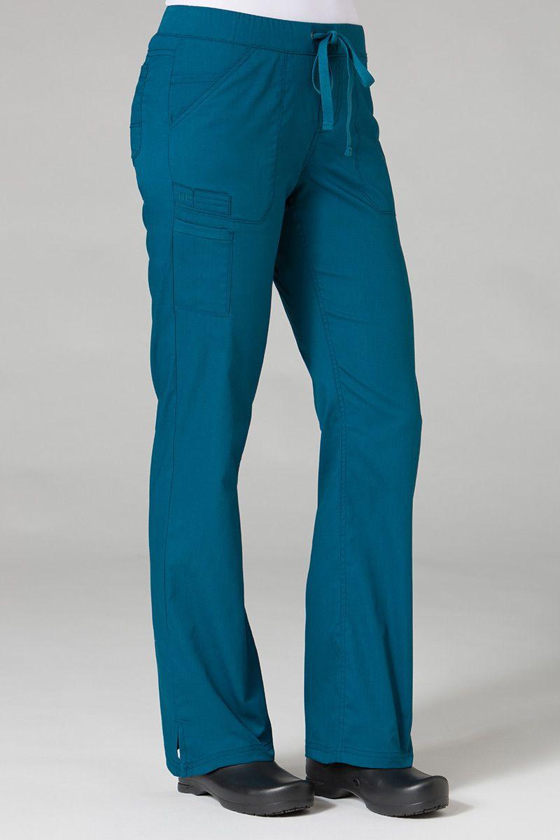 Lékařské kalhoty Maevn PrimaFlex karibsky modré