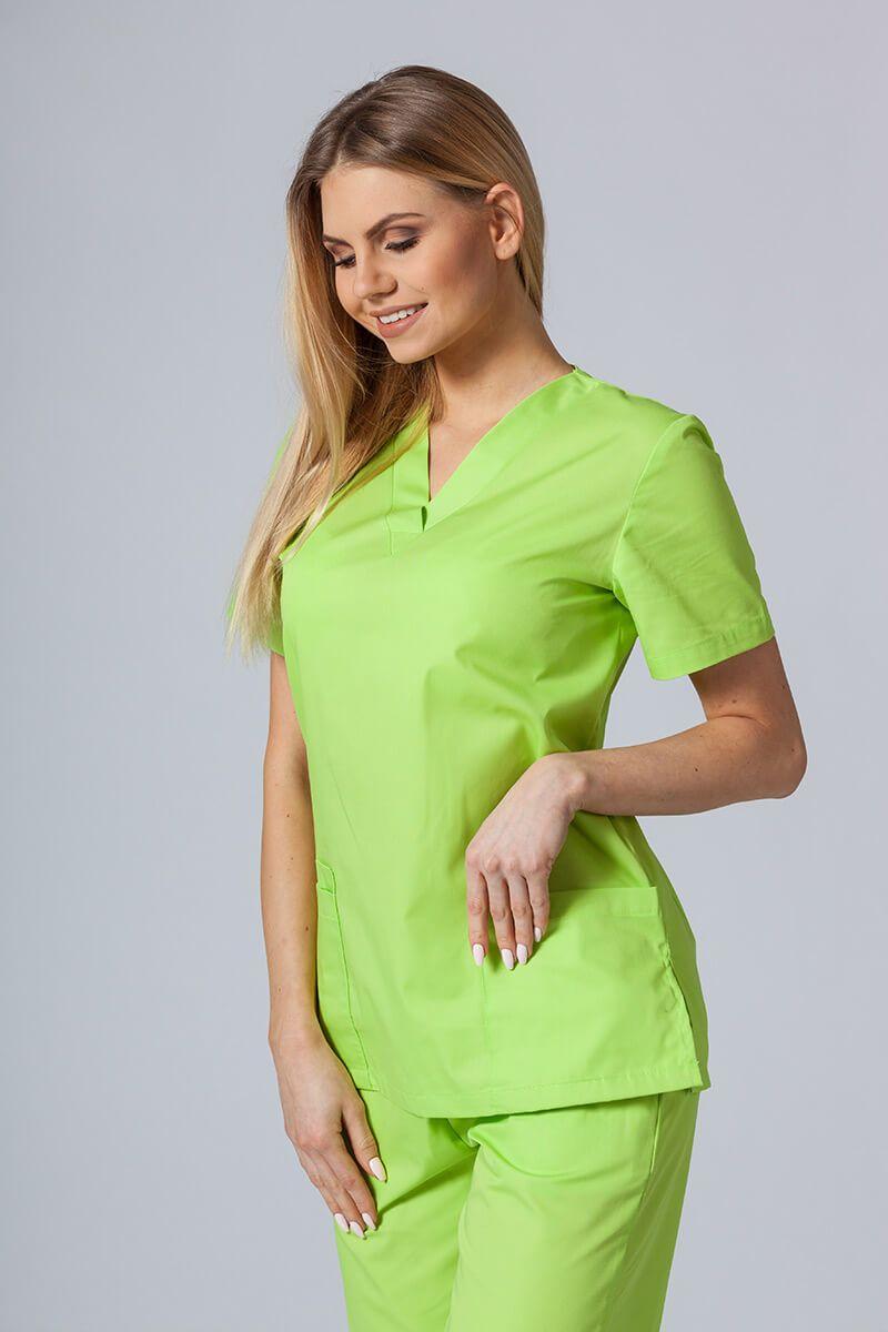 Lékařská halena Sunrise Uniforms limetková